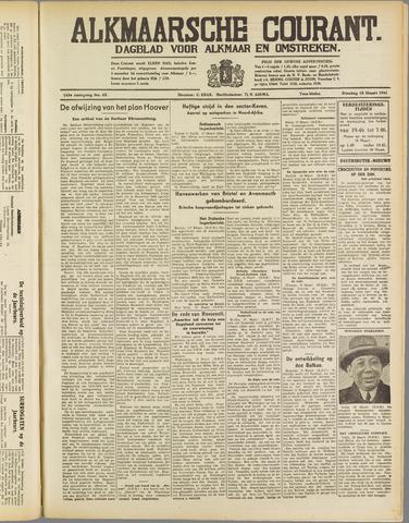 Alkmaarsche Courant 1941-03-18