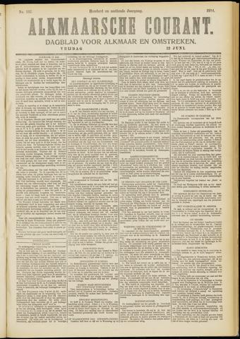 Alkmaarsche Courant 1914-06-12