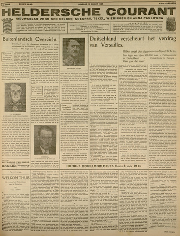 Heldersche Courant 1935-03-19