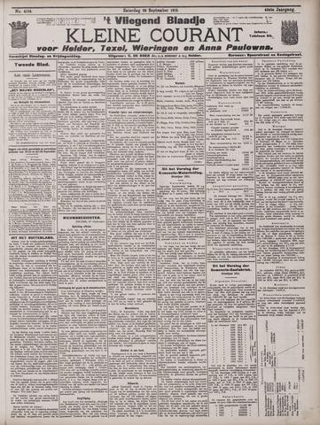 Vliegend blaadje : nieuws- en advertentiebode voor Den Helder 1912-09-28