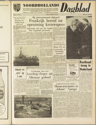 Noordhollands Dagblad : dagblad voor Alkmaar en omgeving 1960-04-08