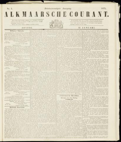 Alkmaarsche Courant 1871-01-22