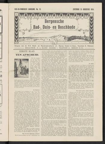 Bergensche bad-, duin- en boschbode 1934-08-25