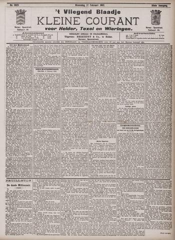 Vliegend blaadje : nieuws- en advertentiebode voor Den Helder 1902-02-12