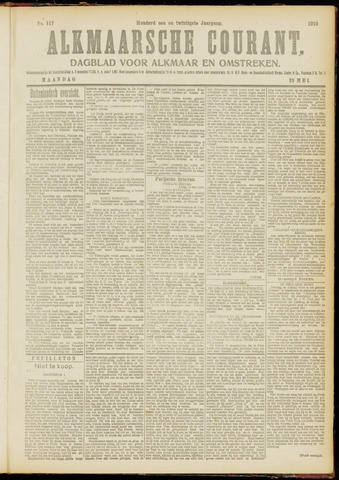 Alkmaarsche Courant 1919-05-19