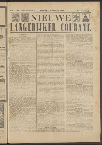 Nieuwe Langedijker Courant 1922-11-07