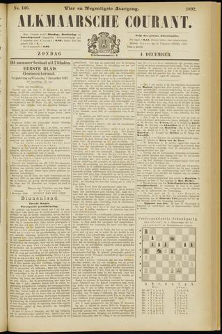 Alkmaarsche Courant 1892-12-04