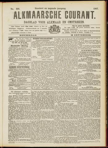 Alkmaarsche Courant 1907-09-19