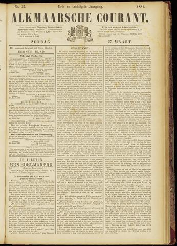 Alkmaarsche Courant 1881-03-27