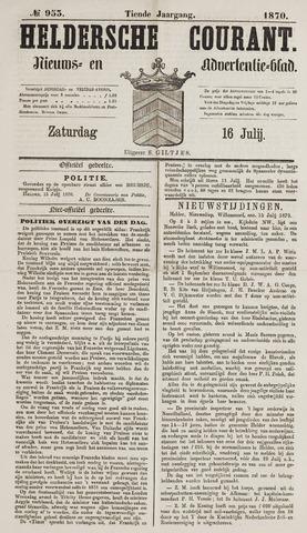 Heldersche Courant 1870-07-16