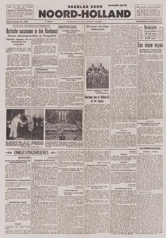 Dagblad Noord-Holland, Schager editie 1943-01-06