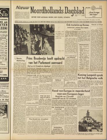 Nieuw Noordhollandsch Dagblad : voor Alkmaar en omgeving 1950-08-12