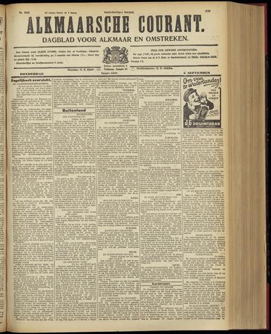 Alkmaarsche Courant 1928-09-06