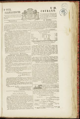 Alkmaarsche Courant 1851-10-13