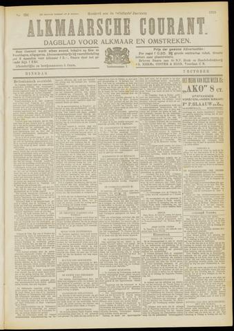 Alkmaarsche Courant 1919-10-07