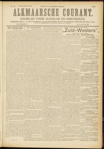 Alkmaarsche Courant 1917-01-27