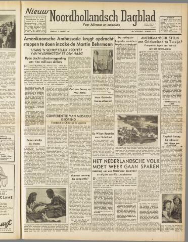 Nieuw Noordhollandsch Dagblad : voor Alkmaar en omgeving 1947-03-11
