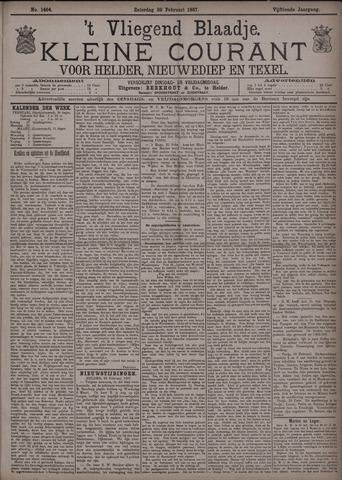 Vliegend blaadje : nieuws- en advertentiebode voor Den Helder 1887-02-26