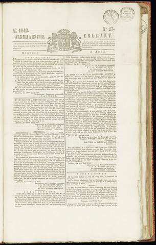 Alkmaarsche Courant 1843-07-03