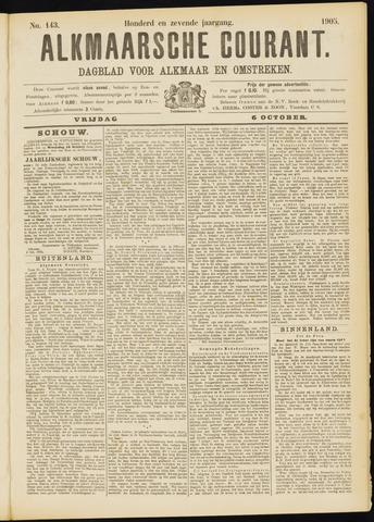 Alkmaarsche Courant 1905-10-06