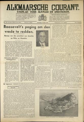 Alkmaarsche Courant 1939-04-17