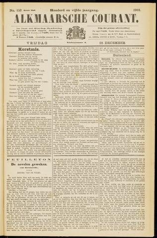 Alkmaarsche Courant 1903-12-25