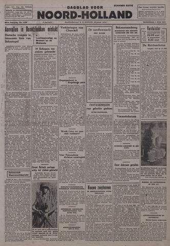 Dagblad Noord-Holland, Schager editie 1942-07-01