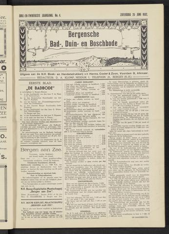 Bergensche bad-, duin- en boschbode 1932-06-25