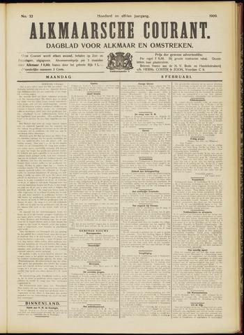 Alkmaarsche Courant 1909-02-08