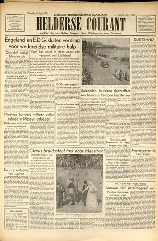 Heldersche Courant 1952-04-16
