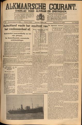Alkmaarsche Courant 1939-10-09