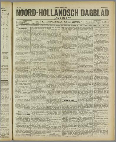 Ons Blad : katholiek nieuwsblad voor N-H 1922-03-08