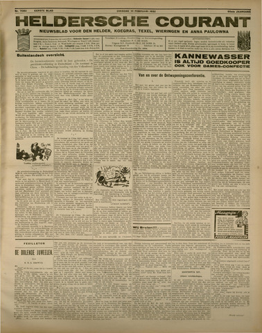 Heldersche Courant 1932-02-16
