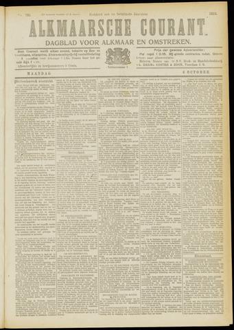 Alkmaarsche Courant 1919-10-06