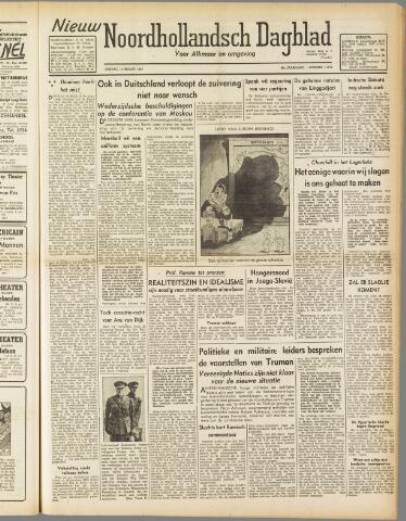 Nieuw Noordhollandsch Dagblad : voor Alkmaar en omgeving 1947-03-14