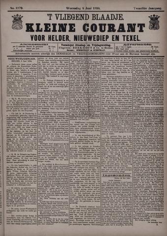 Vliegend blaadje : nieuws- en advertentiebode voor Den Helder 1884-06-04