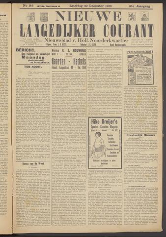 Nieuwe Langedijker Courant 1928-12-29