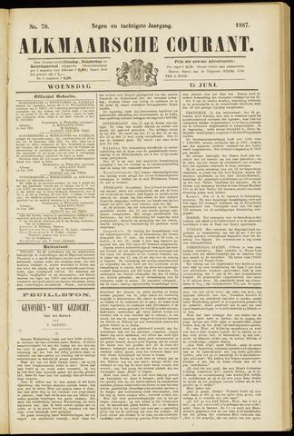 Alkmaarsche Courant 1887-06-15