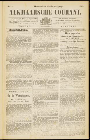 Alkmaarsche Courant 1902-01-03