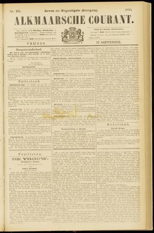 Alkmaarsche Courant 1895-09-27
