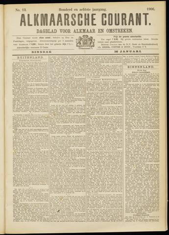 Alkmaarsche Courant 1906-01-16