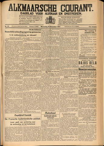 Alkmaarsche Courant 1934-12-19