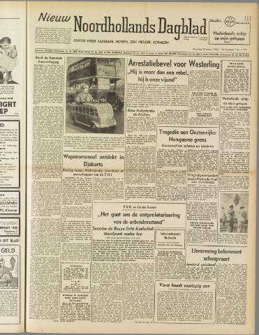 Nieuw Noordhollandsch Dagblad : voor Alkmaar en omgeving 1950-01-25
