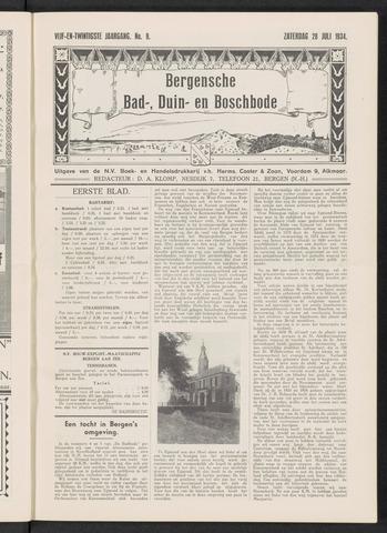 Bergensche bad-, duin- en boschbode 1934-07-28