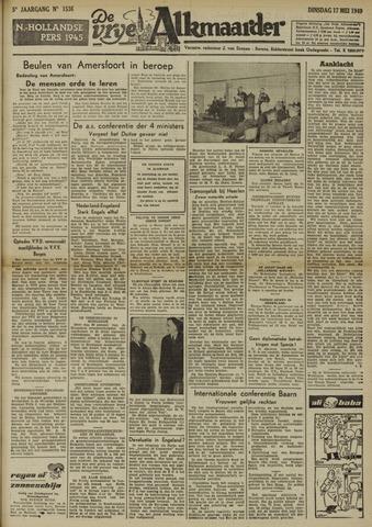 De Vrije Alkmaarder 1949-05-17