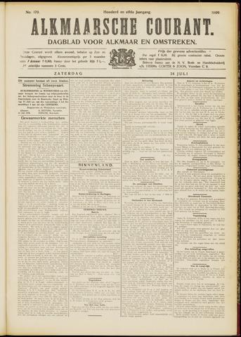 Alkmaarsche Courant 1909-07-24