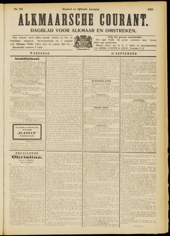 Alkmaarsche Courant 1913-09-10