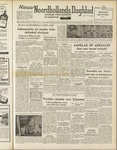 Nieuw Noordhollandsch Dagblad : voor Alkmaar en omgeving 1952-03-28