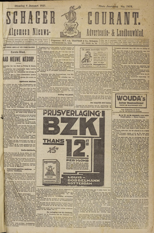Schager Courant 1927