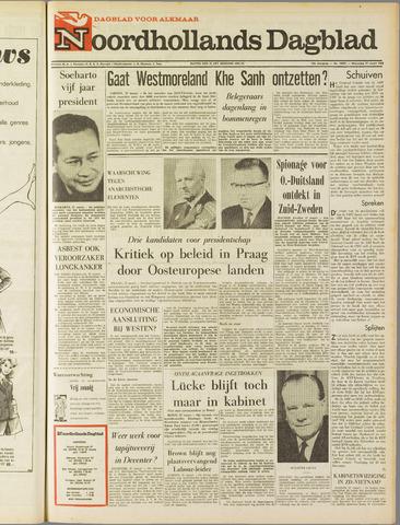 Noordhollands Dagblad : dagblad voor Alkmaar en omgeving 1968-03-27